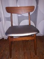 Vintage Mid Century pillangó étkező székek - dán design