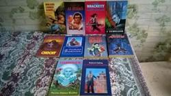 10 darabos GBK sci-fi könyvcsomag