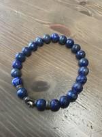 Lápisz lazuli férfi karkötő
