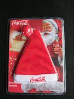 Coca-cola Mikulás kulcstartó sapka