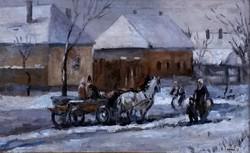 Chiovini Ferencz (1899-1981): Hazafelé 1937.