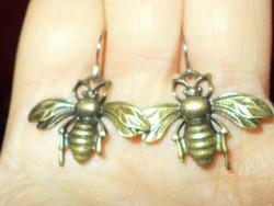 Méhecske 3D-s kézműves Fülbevaló