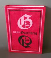 Törpekönyv - Így élt Guttenberg