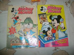 W. Disney: Mickey Mause képregény - 1993 - két darab