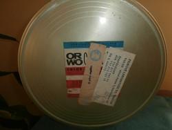 Retro fém film doboz ORWO