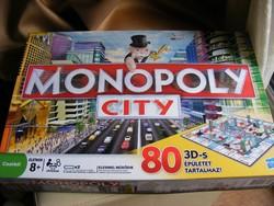 Monopoly City 3D társasjáték