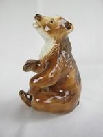 Royal dux porcelán maci