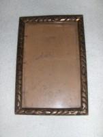 Régi képkeret üveggel 10*14,5 cm (n)