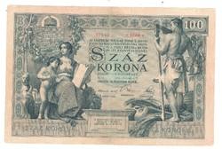 100 korona 1902 Nagyon Ritka!