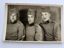 Régi fotó katona fénykép csoportkép 1939
