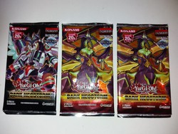 Yu-Gi-Oh gyűjthető kártyacsomag  ( 3 csomag )