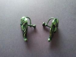 Antik sterling fülbevaló