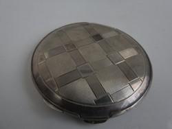 Ezüst púderos szelence