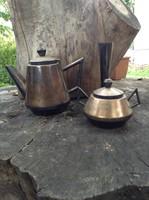 Ezüstözött MSZMP szocialista relikvia kávés készlet
