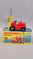 Régi Matchbox targonca eredeti dobozával