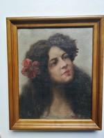 Hollós Holczer Károly - Női portré