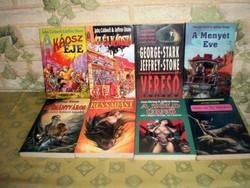 8 darabos Jeffrey Stone sci-fi könyvcsomag