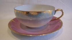 EIGL Osztrák tojáshéj porcelán csésze + alj