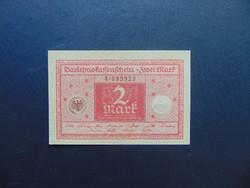 2 márka 1920 Németország Hajtatlan bankjegy  02