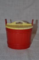 Retro műanyag só tartó 02  ( DBZ 0049 )