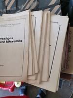 Országos éremcsere közvetítés eredeti példányok. 1975 - 1980 ig