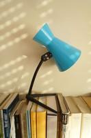 Vintage hangulatlámpa fém lámpa asztali lámpa retró olvasólámpa