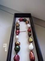 Mesés tenyésztett gyöngy nyaklánc