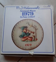 Hummel dombornyomású tányér