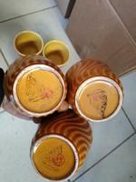 Gránit pohár 6 darab