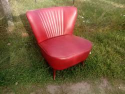 Retro sky mini fotel / klubfotel / műbőr fotel