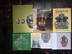 Zsolnay kerámia 12 könyv egyben