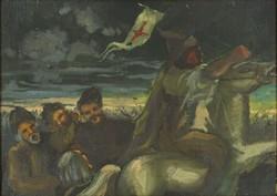 0Y230 Magyar festő XX. század : Honfoglalás
