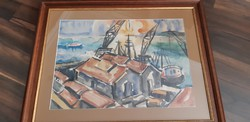 Hajós Imre - Burgos-i kikötők 1964