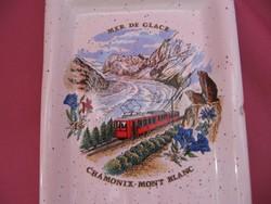 2008-as Centenarie du Montenvers emlék kanáltartó