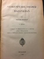 Bayer: Shakespeare drámái Magyarországon I. II. / 1909