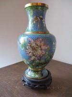 Régi Kínai tüzzománc váza