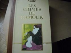 De Sade márki: Les Crimes de L'amour