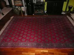 Gyönyörű, kézi csomózású nagyon nagy antik perzsa szőnyeg nagyon megkímélt állapotban
