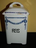 Német jelzett fűszertartó:rizs.