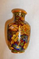 Antik rekesz (Cloissoné)   zománc váza