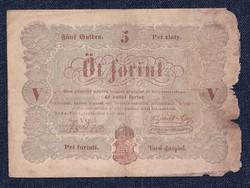 Szabadságharc 5 Forint bankjegy 1848 / id 11079/