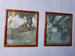 Otto Nowak Schubert litográfiái