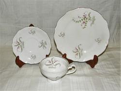 Teás reggeliző szett  Weimar porcelán