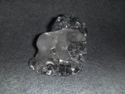 Jegesmedve üveg levélnehezék Svéd súly 1,1 kg (14/d)