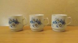 Zsolnay porcelán bögre 3 db egyben (24/d)