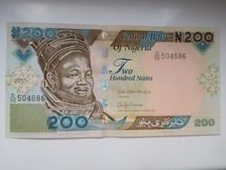 Nigéria 200 naira 2017 UNC