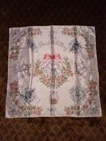 Királyi, esküvői souvenir, Lady Diana és Charles herceg női kendő sál