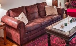 Kanapé, textilbőr kanapé
