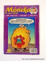 2001 március 29  /  Móricka  /  Régi ÚJSÁGOK KÉPREGÉNYEK MAGAZINOK Szs.:  7521