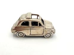Gyűjtőknek!! Ezüst fiat 500, év:1957 Torino 29,8 g